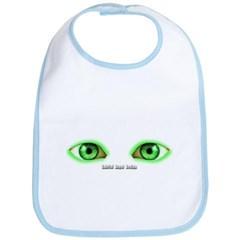 Envy Green Eyes Baby Bib