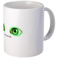 Envy Green Eyes Coffee Mug