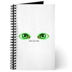 Envy Green Eyes Journal
