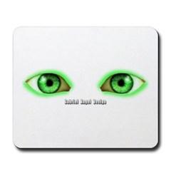 Envy Green Eyes Mousepad