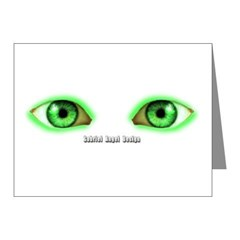 Envy Green Eyes Note Cards (Pk of 10)