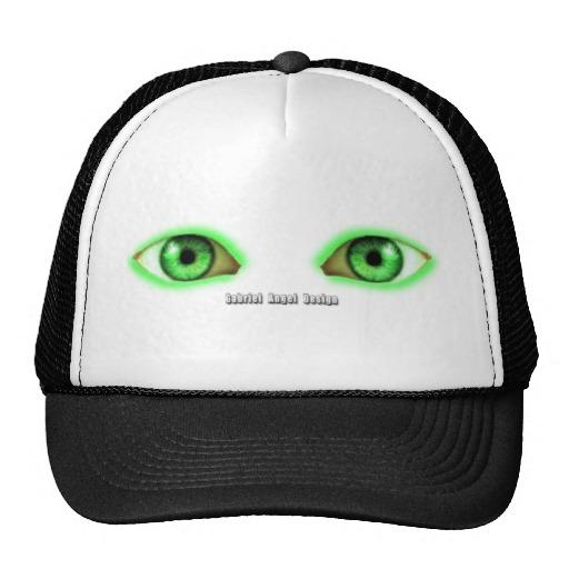 Envy Green Eyes Trucker Hat