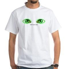 Envy Green Eyes White T-Shirt
