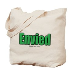 Envied Canvas Tote Bag