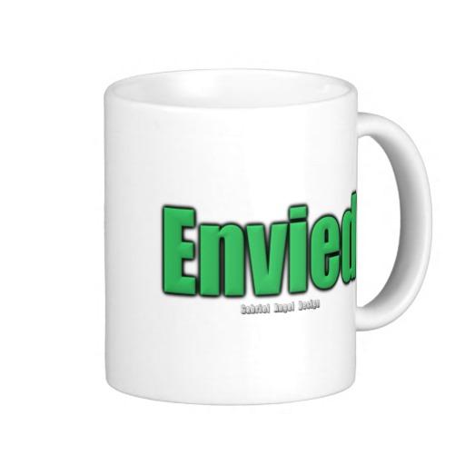 Envied Classic White Mug