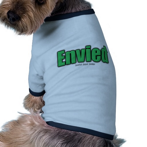 Envied Doggie Ringer T-Shirt