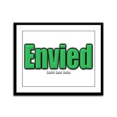 Envied Framed Panel Print