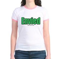 Envied Junior Ringer T-Shirt