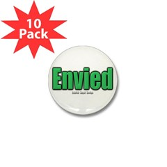 Envied Mini Button (10 pack)