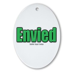 Envied Oval Ornament