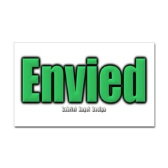 Envied Rectangle Decal