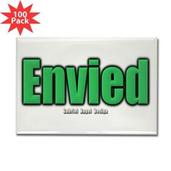 Envied Rectangle Magnet (100 pack)