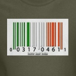 Barcode Irish Flag