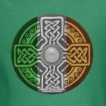Celtic Shield Knot with Irish Flag