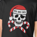 Christmas Pirate Skull