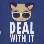 Deal With It Cat