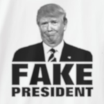 Donald Trump Fake President