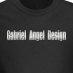 Gabriel Angel Design Metal Logo