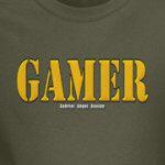 A gamer logo
