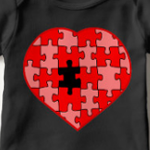 Heart Puzzle Missing a Piece