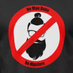 No Man Buns No Hipsters