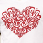 Ornate Valentines Day Heart