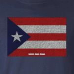 Puerto Rico Cloth Flag